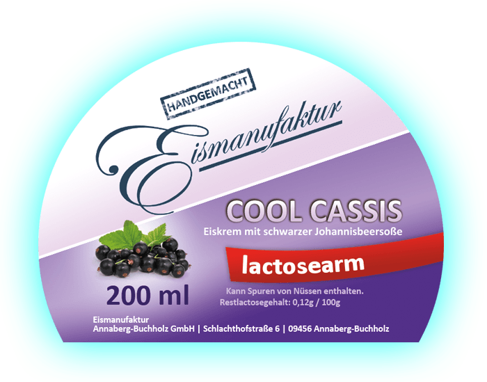 Cool Cassis 200 ml - lactosearm
